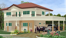 SUBOK Double Storey Detached House Type 2 & Type 3